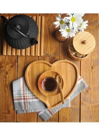Bambum Amor Kalp Tepsi Küçük Renkli